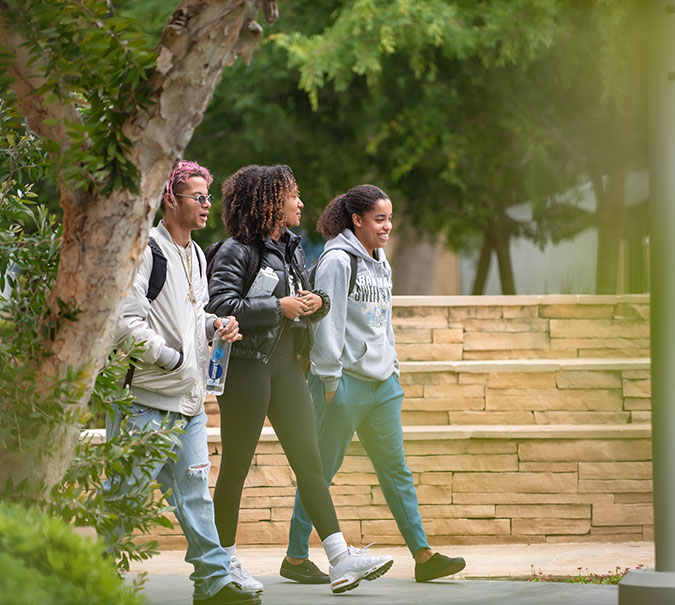 Students by quad
