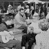 1961 Students Playing Music
