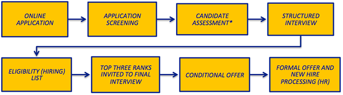 Application and Testing Process Graphic