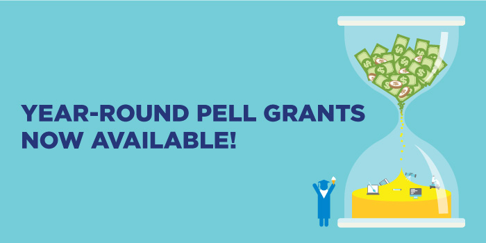 Year Round Pell Grants Now Available! - Banner