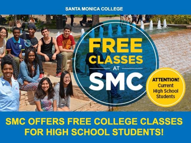 Free classes for high school students