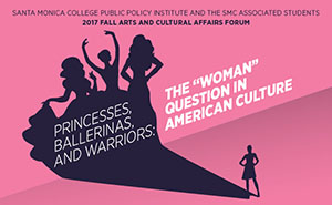 Flier for The Woman Question in American Culture