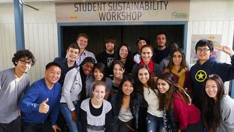 Students in Sustainability Workshop