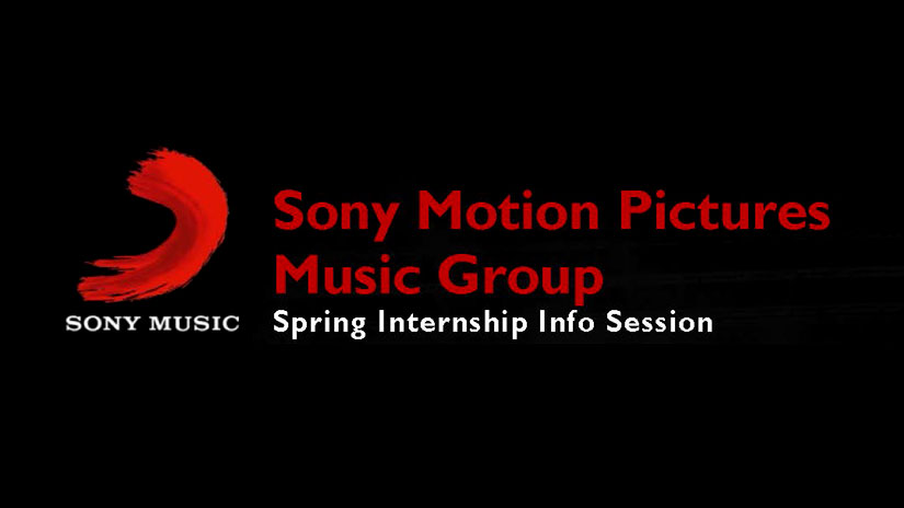 Sony Motion Pictures Music Group Spring Internship Info Session