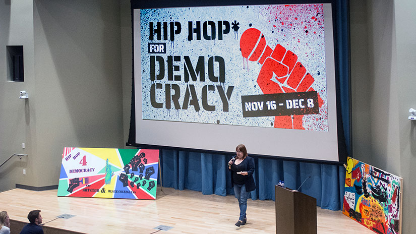 Hip Hop for Democracy lecture