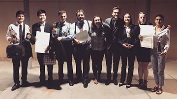 SMC Speech and Debate Team Wins Awards at Two Fall Tournaments