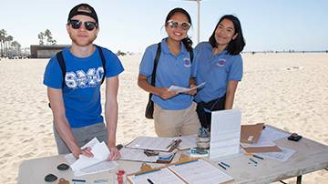 SMC Volunteers Join in Coastal Cleanup Day