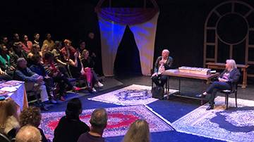 Legendary Composer Mike Stoller Attends SMC Production of