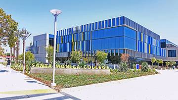 SMC's Student Services Building