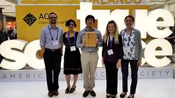 Chem Club Receives Highest ACS Honor