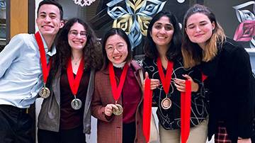 Debate Team Wins Awards at PSCFA Tournament