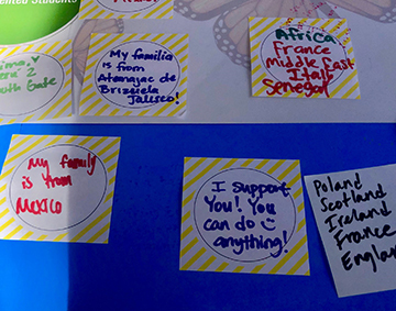 SMC students' and employees' messages