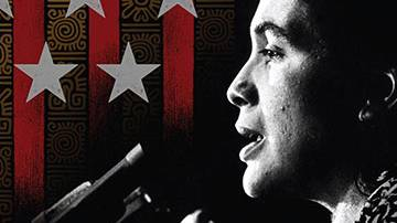 """Marisol Moreno: Human Rights, Dolores, and Us"" Poster"