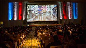 Ask a NASA Astronaut: SMC Students Interact with Commander Randy Bresnik Live from the International Space Station