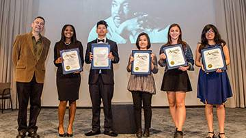 High School Students Honored with 2018 Education Awards from the Rev. Dr. Martin Luther King, Jr. Westside Coalition