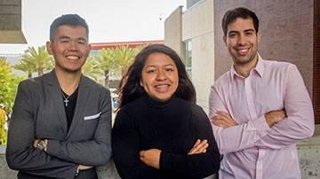 Three Graduating SMC Students Look Ahead with Hope