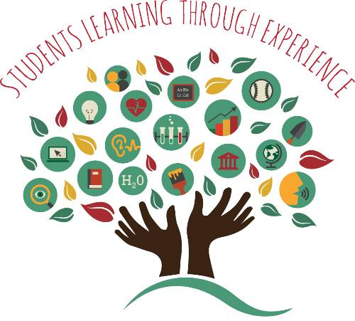 Applied and Service Learning Tree Logo