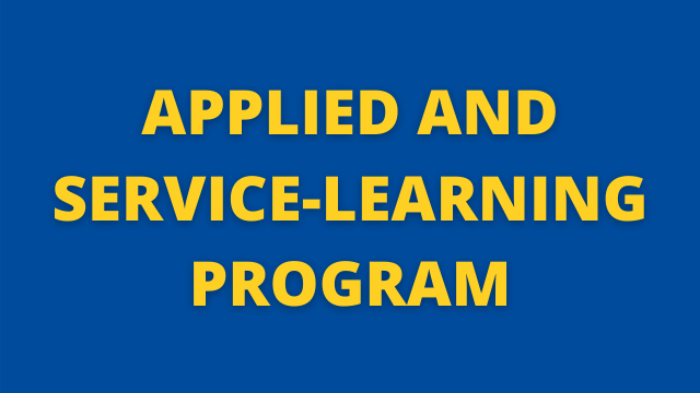Applied and Service-Learning Program