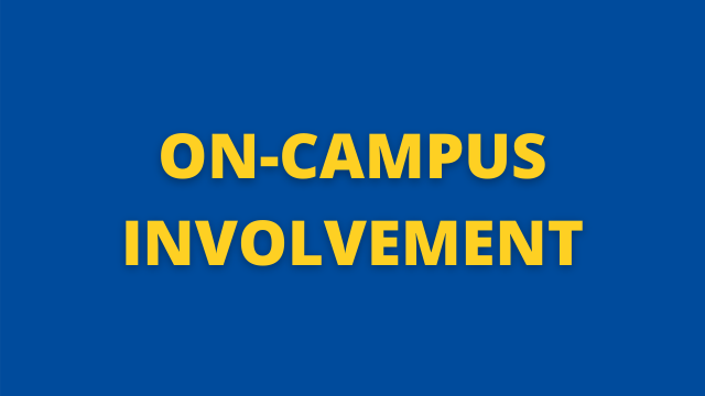 On-Campus Involvement