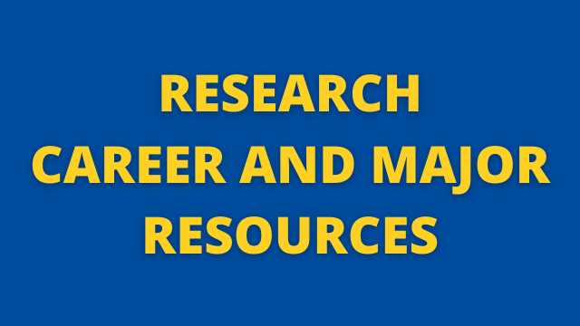 Research Career and Major Resources