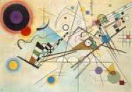 Painting by Wassily Kandinsky