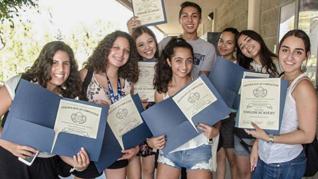 Students with certificate of completions