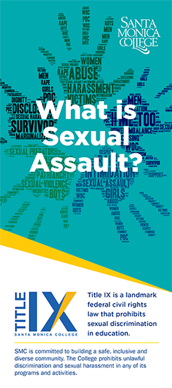 What is Sexual Assault? Rackcard