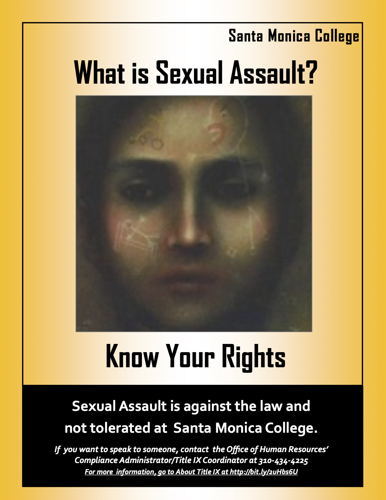 What is Sexual Assault? Yellow Poster