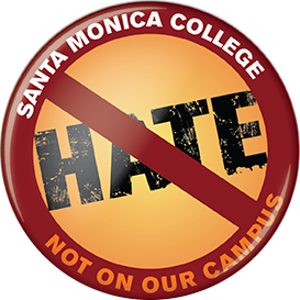 Not On Our Campus Button
